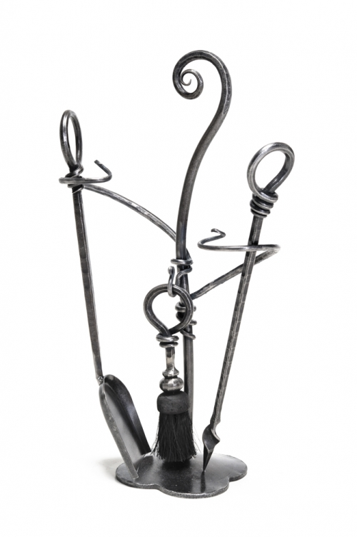 Companion set, hand forged