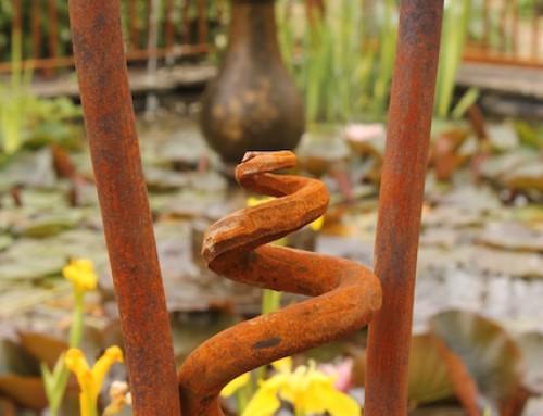 """Walled Garden Mells """"railings"""""""