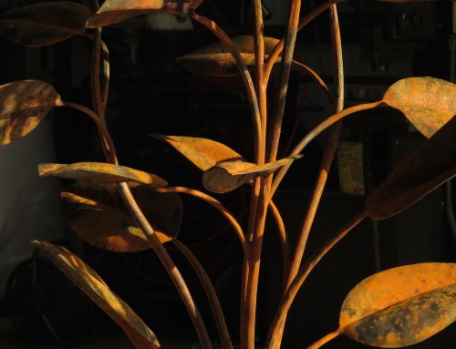 Rust  and early morning light